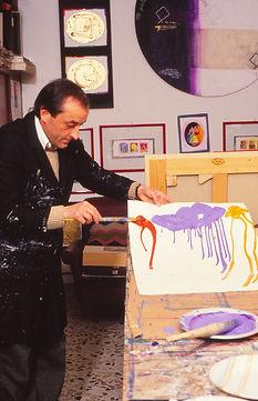 1985 - De Tora nello studio.jpg