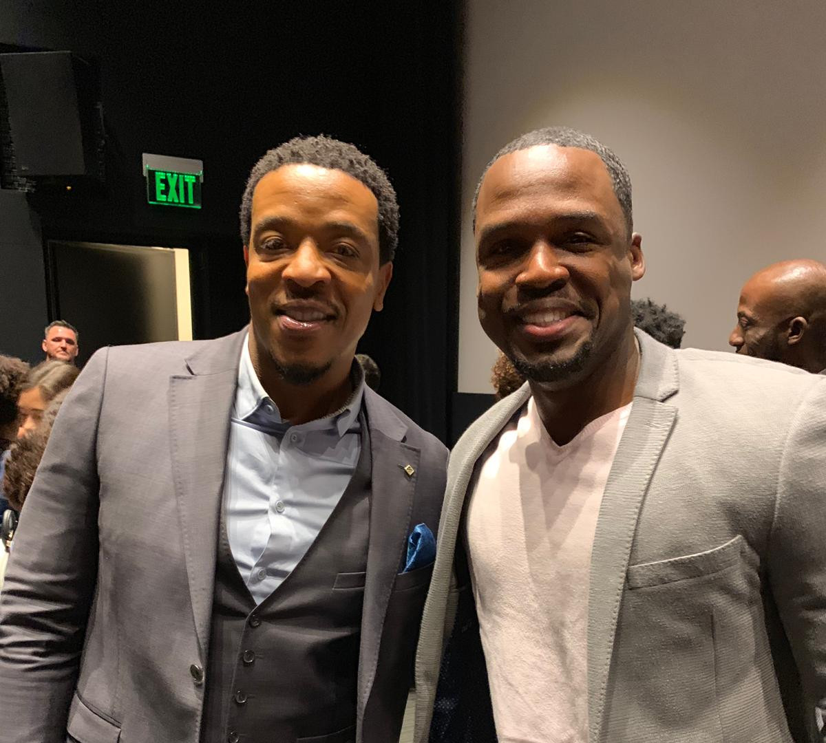 """""""Brother this is FANTASTIC!  Screenwriters, Producers, actors, directors can just connect with me directly for any film project … this is insane!"""" - Russell Hornsby, Award Winning Actor"""