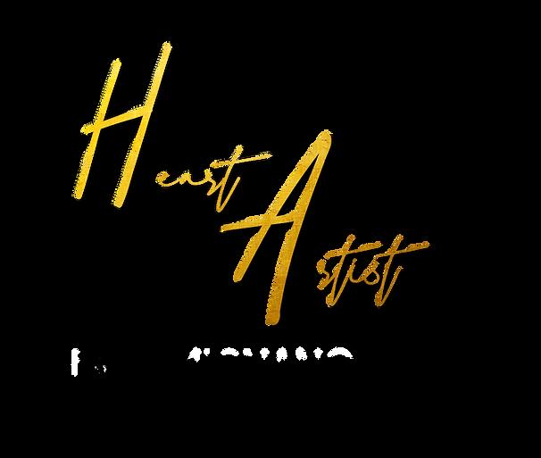 BLACK - Heart of the Artist Show Logo Fi