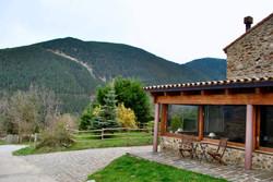 Hotel Can Gasparo - porche restaurante mirador