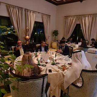 Dinner in Dubai