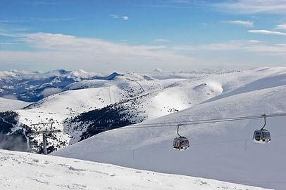 Estacion esqui La Molina en la cerdanya gerona pirineo catalan