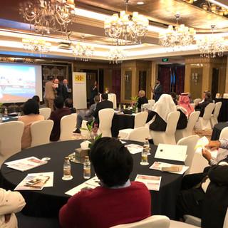 Presentation in Riyadh , Saudi Arabia