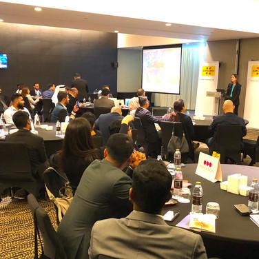 Presentation in Abu Dhabi