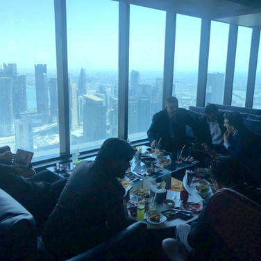 Business lunch DOHA