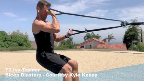 T2 Iso-Trainer Bicep Blasters - Courtesy Kyle Knapp