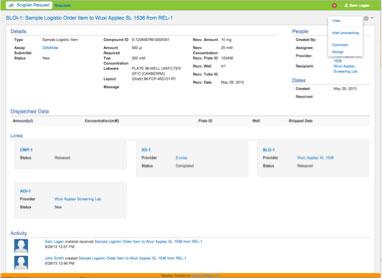 Assay Provider Status