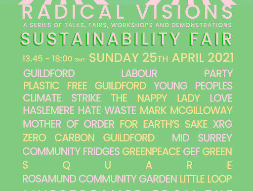 Guildford Sustainability Fair: Livestreamed from the Boileroom