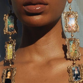 name a better set of earrings let's hear