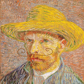 van gogh painted over THIRTY self-portra