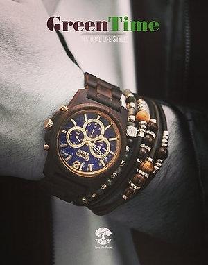 GREEN TIME腕時計 ZW084B