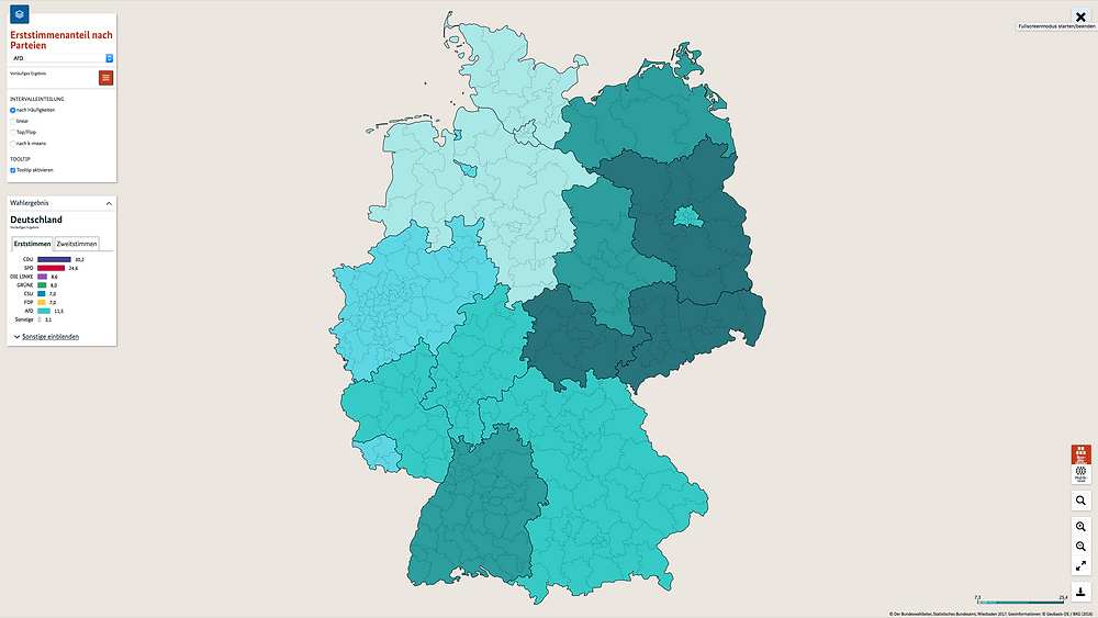 AfD Voters Distribution (source: bundeswahlleiter.de)