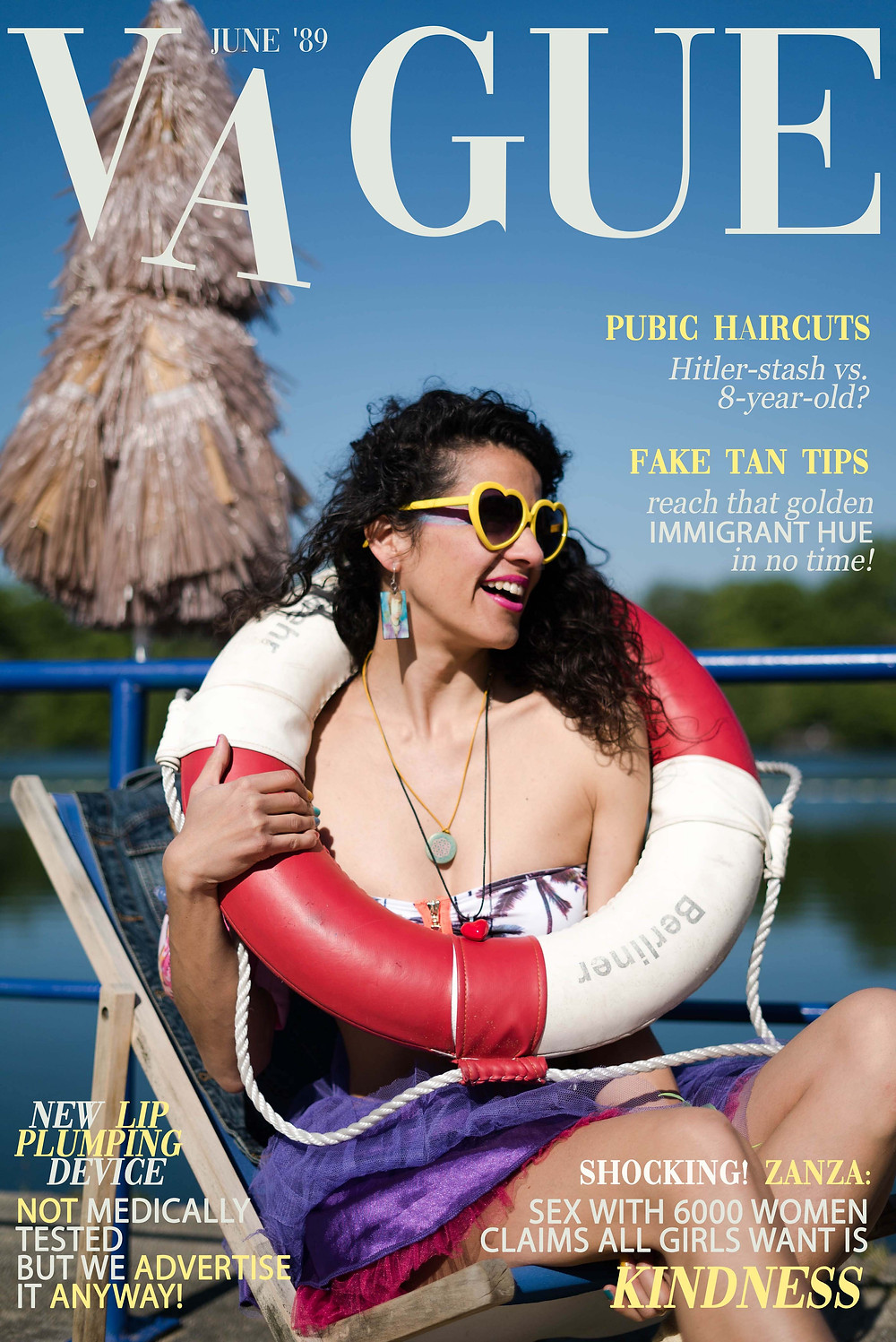 VOGUE Cover - If fashion mags were honest
