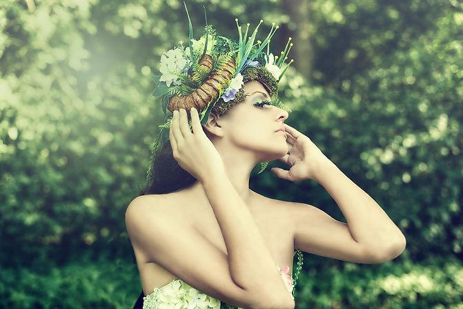 MIss Stereochemistry Echo Love Artwork Forest Fairy