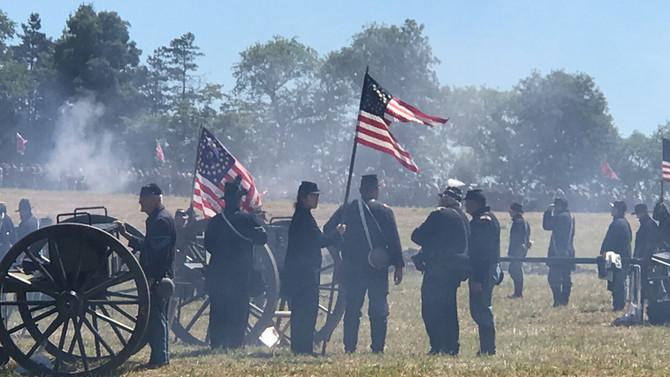 Reenactment of Gettysburg