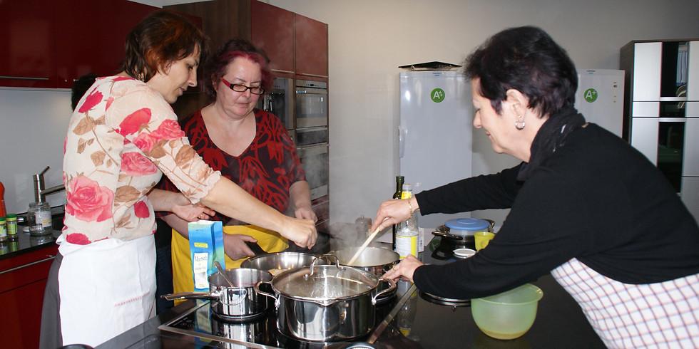 Kochabend und Erfahrungsaustausch