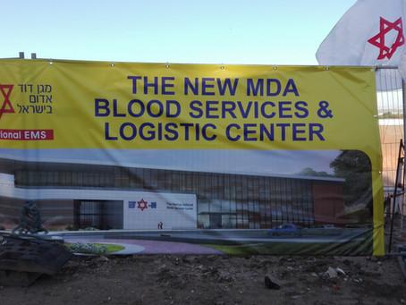 Continuano i Lavori per la Nuova Banca del Sangue.