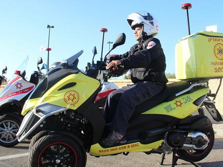 """Una motomedica in onore di Yoav Hattab z""""l"""