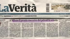 La Verità 12/05/2019 - A Milano il pronto soccorso dei privati fa scuola