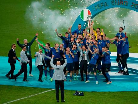 grazie ragazzi!Campione d'europa euro 2020
