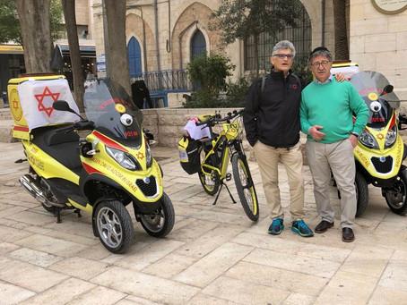 2 Moto Mediche Donate al Magen David Adom in Israele