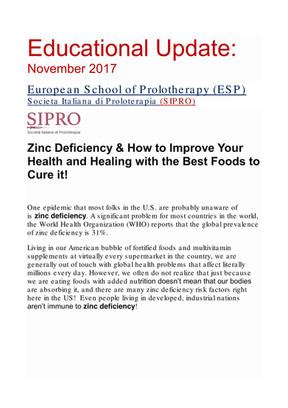 Educational Update November 2017