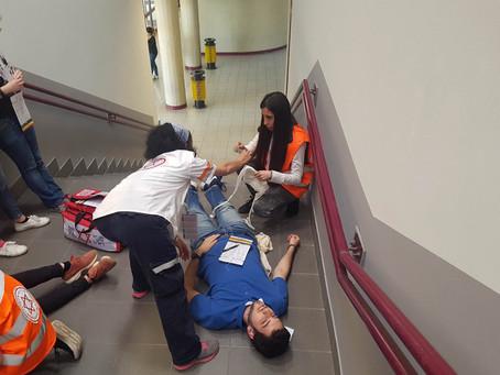 "Workshop del Magen David Adom all'Università Tor Vergata:""Multi Casualty Incidents"""