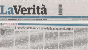 I BENEFICI DELL'ANTICA ARTE DELLA MAGNETOTERAPIA - LA VERITA' 29/12/2019