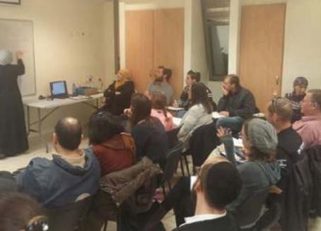 Corsi di arabo per i volontari del MDA a Gerusalemme