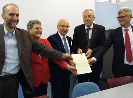 Gemellaggio MDA e AVIS Piemonte a Pianezza