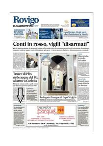 Il Gazzettino di Rovigo - 16/04/2019 - In sala operatoria arriva il robot per le protesi