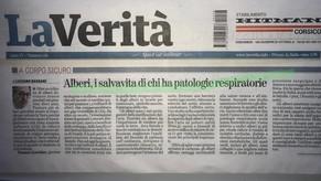 La Verità - 28/04/2019 - Alberi, i salvavita di chi ha patologie respiratorie