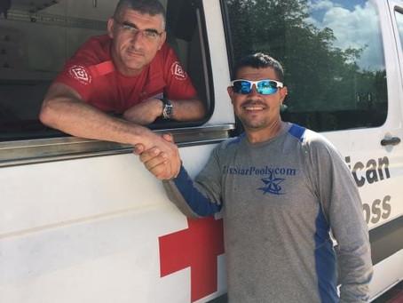 MDA ancora a Huston per gli aiuti umanitari alle vittime dell'uragano