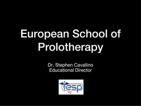 SCIENTIFIC EVIDENCE OF PROLOTHERAPY