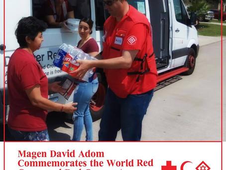Magen David Adom celebra la giornata mondiale della Croce Rossa e della Mezza Luna Rossa