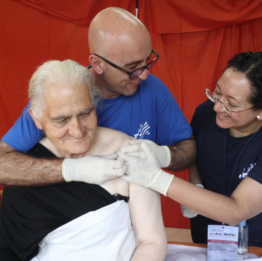 Prolotherapy Greek Mission 2019