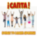 CD cover for ¡CANTA! Songs to Learn Spanish, an album by Meredith Kaunitz and Jonathon Lynch, engineered and produced by Stephen Antonelli of Songbuilder Studios.