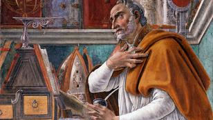 Discussion autour d'une pensée de Saint-Augustin.