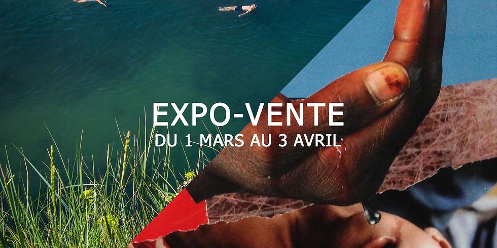 Expo-Vente Johann Morin/Photographe & Dominique Luccioni/Artiste Plasticien