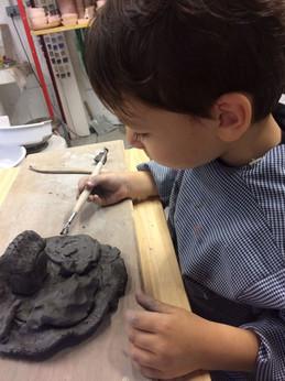 poterie pour les enfants