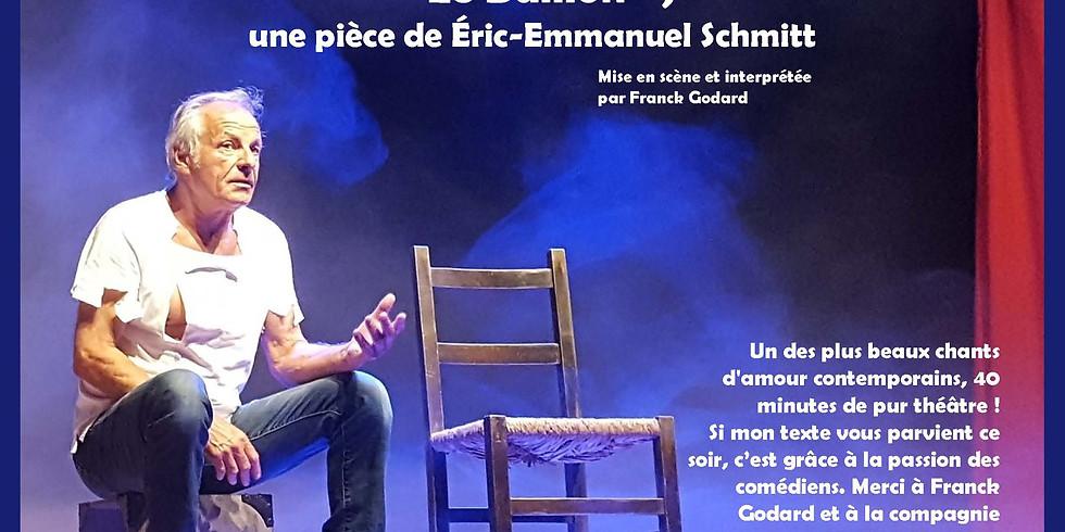 """Soirée théâtrale le 8 février 2019 - Franck Godard interprète """"Le Bâillon"""""""