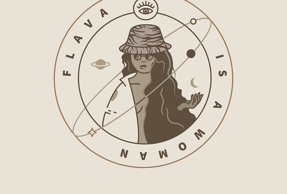 Plakat FLAVA IS A WOMAN