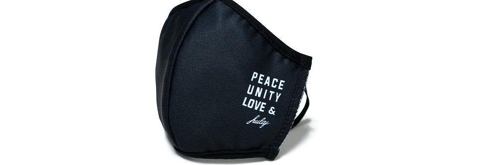 maseczka PEACE UNITY LOVE & HULAJ