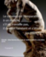 Le cerveau est comparable à un muscle, s'il ne travaille pas, il devient fainéant et s'étiole Jim Eden Les Écritures du Cœur https://www.lesecrituresducoeur.com/citation
