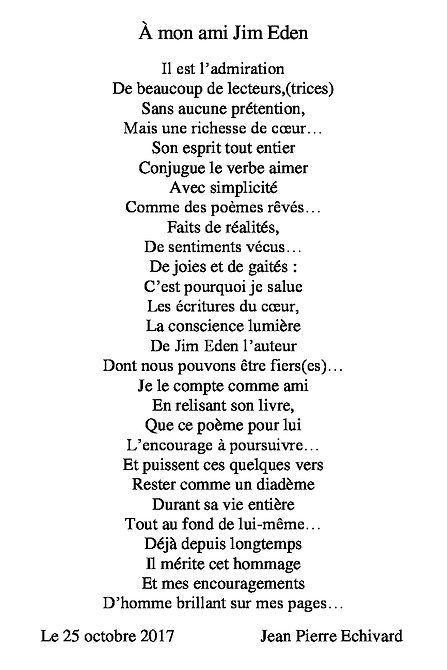 Poème Jim Eden Les Écritures du Cœur www.lesecrituresducoeur.com/accueil