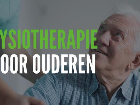 Hoe belangrijk is fysiotherapie voor ouderen?