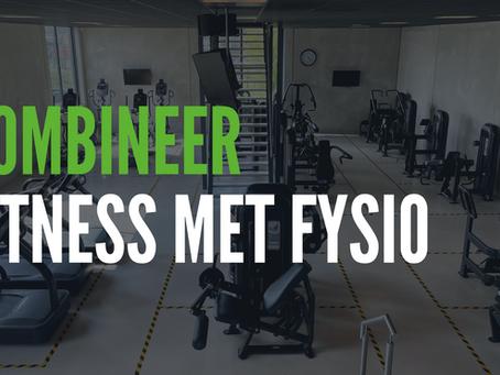 Fitness combineren met fysiotherapie