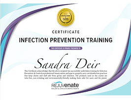 rejuvenate disinfectant certification.pn