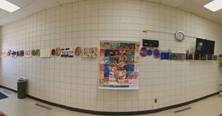 Student Artwork at Wilder Branch Library