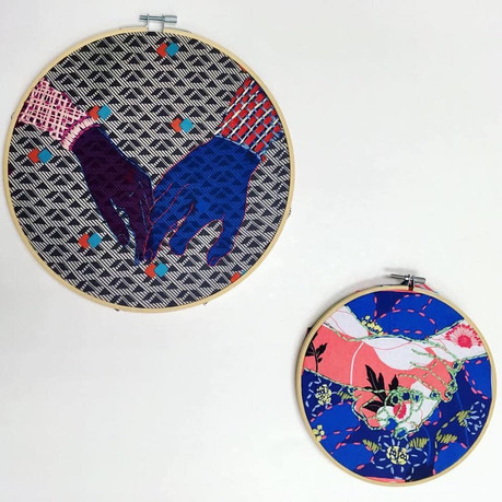 Embroidered intimacy Study